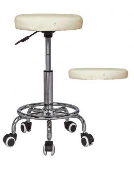 Massage Imperial® Tabouret professionnel de massage à roulettes « Rio »